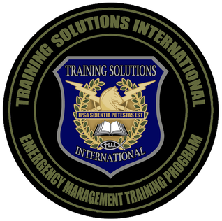 Training Solutions International Emergency Management Training Program Logo