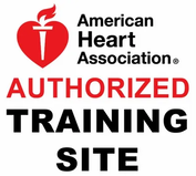 American Heart Association (AHA) Authorized Training Site Logo